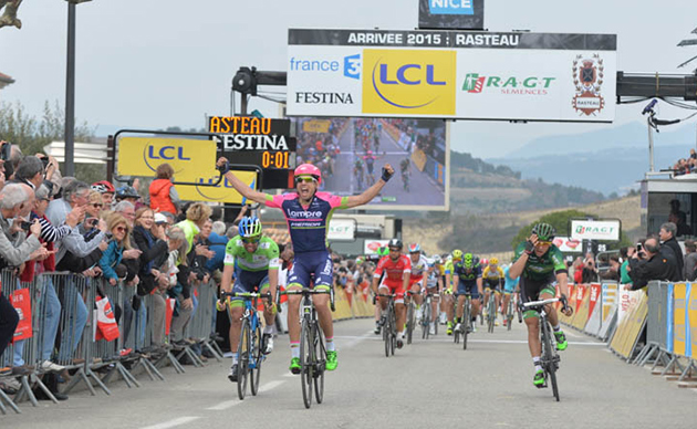 Cimolai wins Paris-Nice stage 5