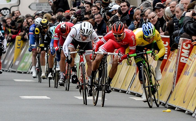 Paris-Nice finish