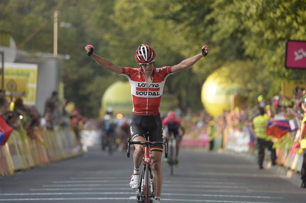 Bart De Clercqq wins Tour ofnPoland stage 5