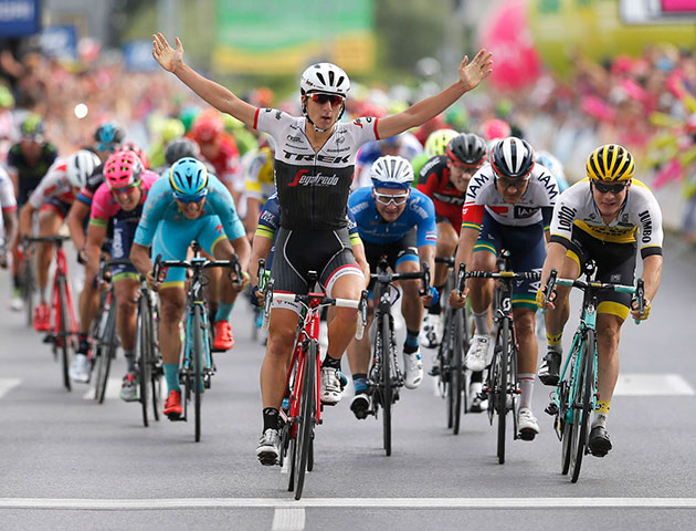 Niccolo Bonifazio wins Tour of Poland stage 3