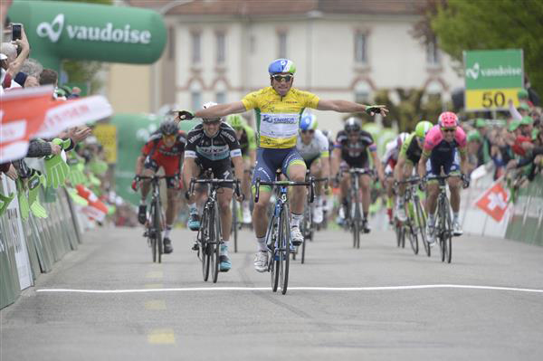 Michael Albasini win stage 3
