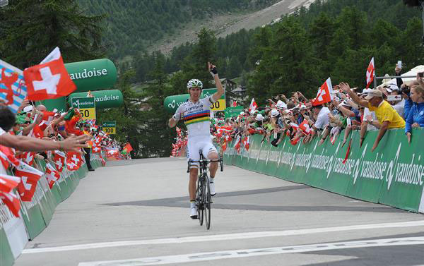 Stage 9 finish