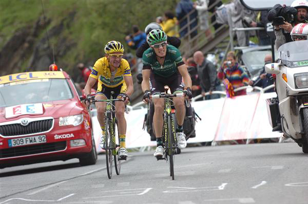 Thomas Voeckler and Pierre Rolland
