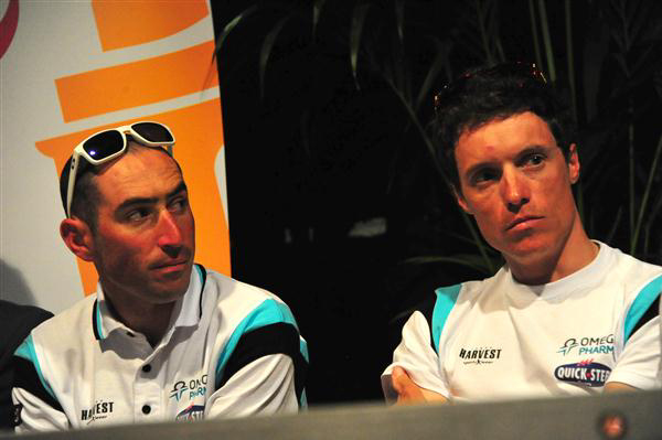 Jerome Pineau and Sylvain Chavanel