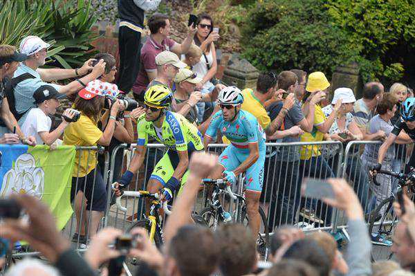 Vincenzo Nibali and Alberto Contador