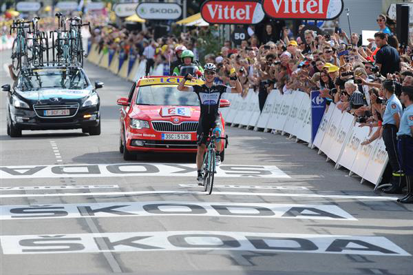 Tony Martin wins stage 9