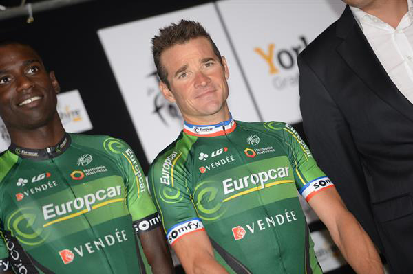 Kevin REza and thomas Voeckler