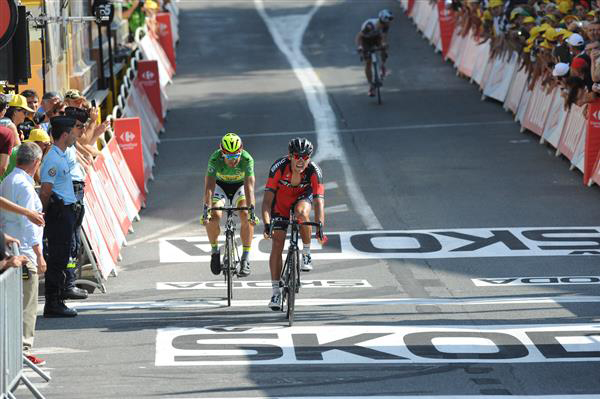 Greg van Avermaet wins Tour stage 13