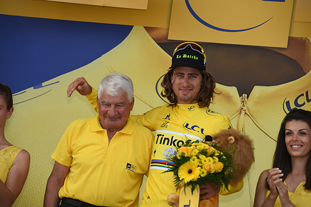 Peter Sagan and Raymond Pouylidor