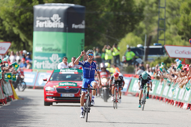 Julian Alaphilippe wins stage 8