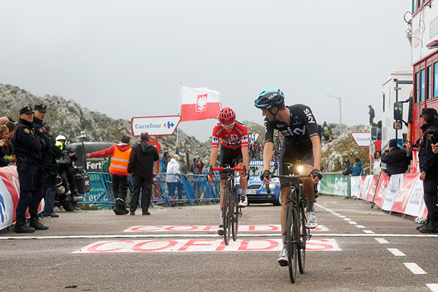 wout Poels & Chris Froome