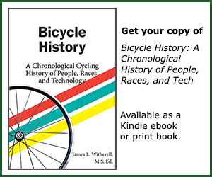 Bicycle History book