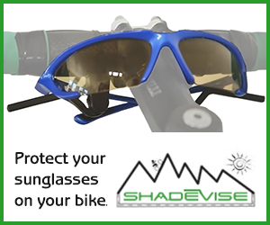 Shade Vise sunglass holder
